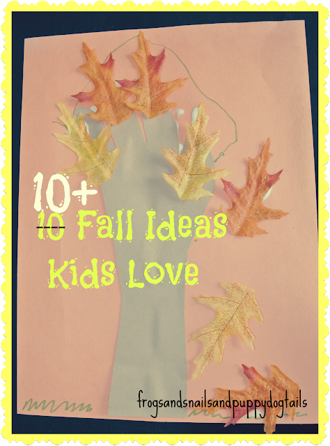 10+ Fall Ideas Kids Love