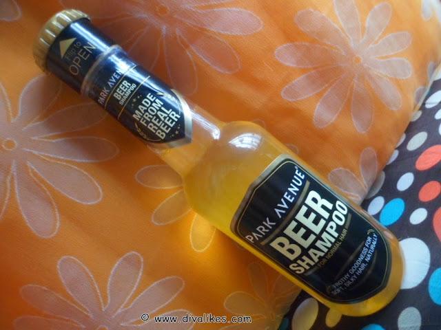 how to use park avenue beer shampoo