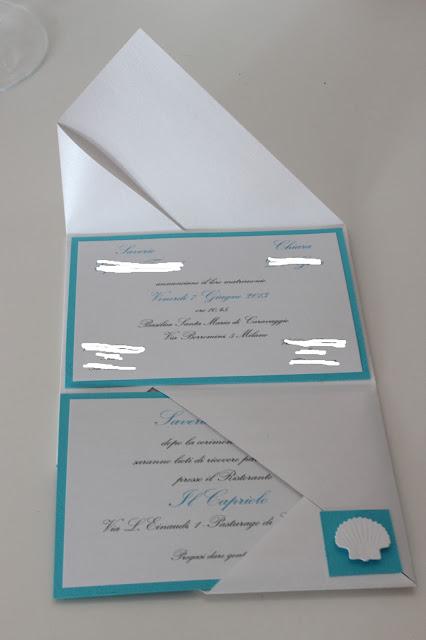 Matrimonio Tema Origami : Le creazioni di maichi matrimonio tema mare partecipazioni