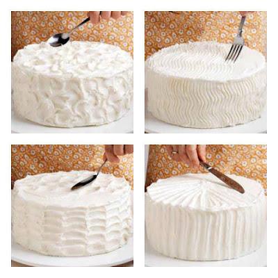 Decorar pasteles de manera fácil