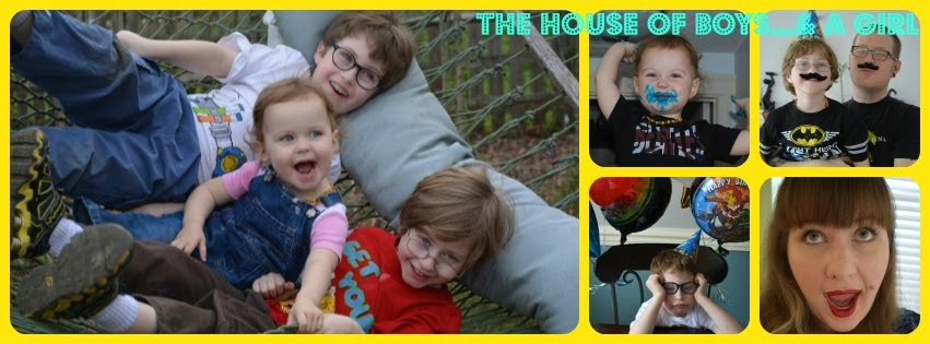The House of Boys...& a Girl