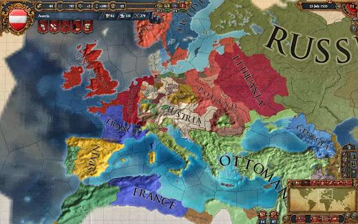 Analisis de Europa Universalis IV