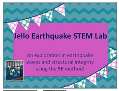https://www.teacherspayteachers.com/Product/Jello-Earthquake-STEM-Exploration-Using-the-5E-Method-2027781