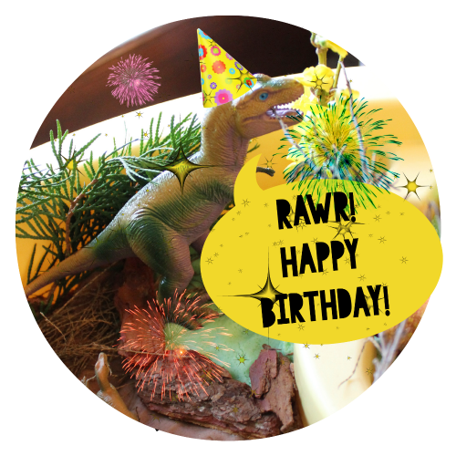 Dinosaur Themed Birthday Party for Kids
