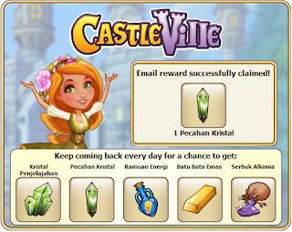 CastleVille+email+reward