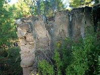 Les runes de la Barraca que han donat nom a la font