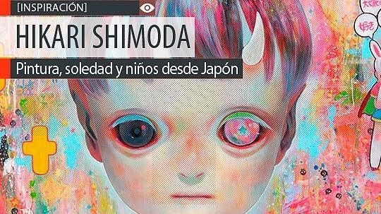Pintura, soledad y niños de HIKARI SHIMODA
