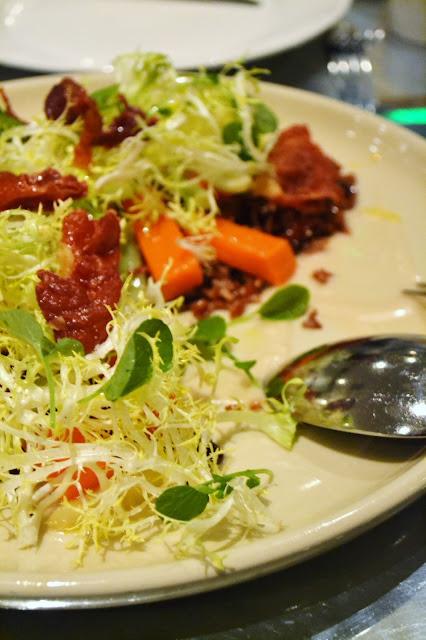 thomas keller, salad, ad hoc, yountville