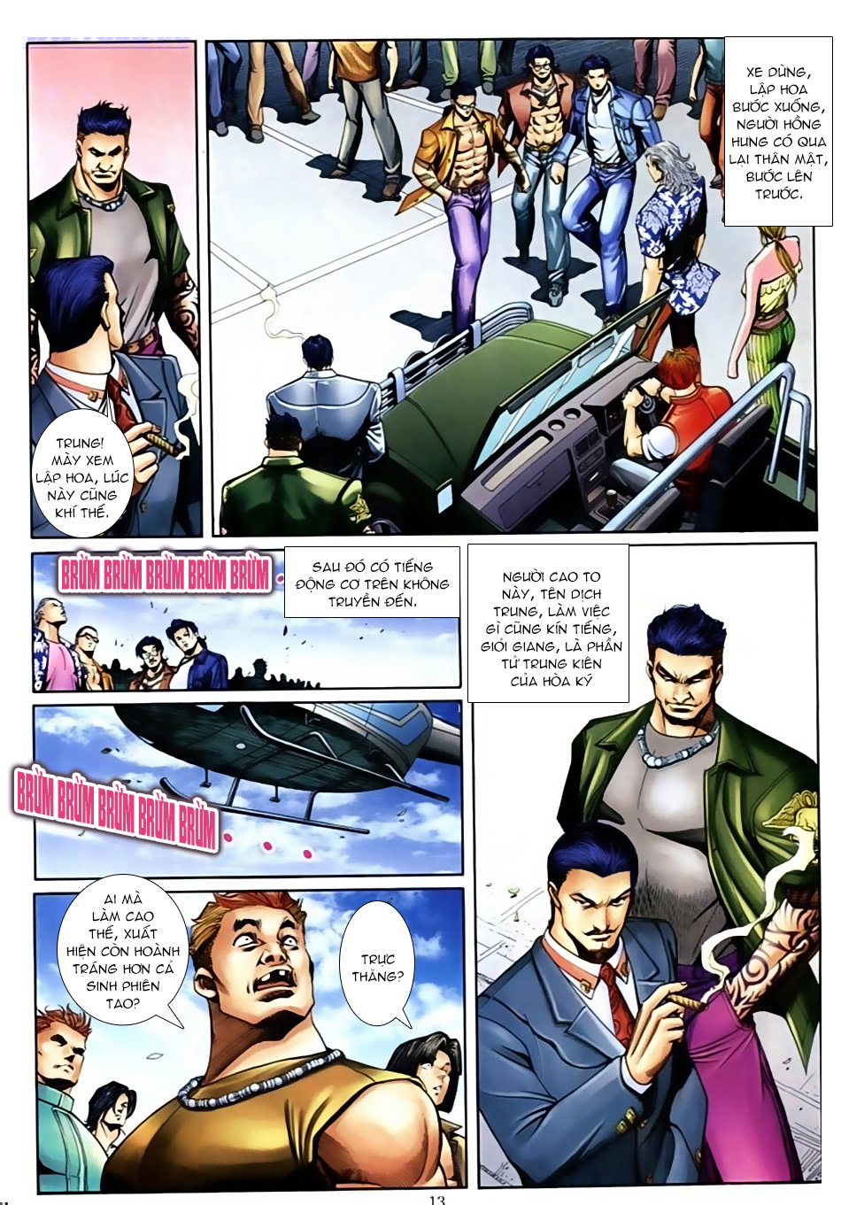 Người Trong Giang Hồ Chap 591 - Truyen.Chap.VN