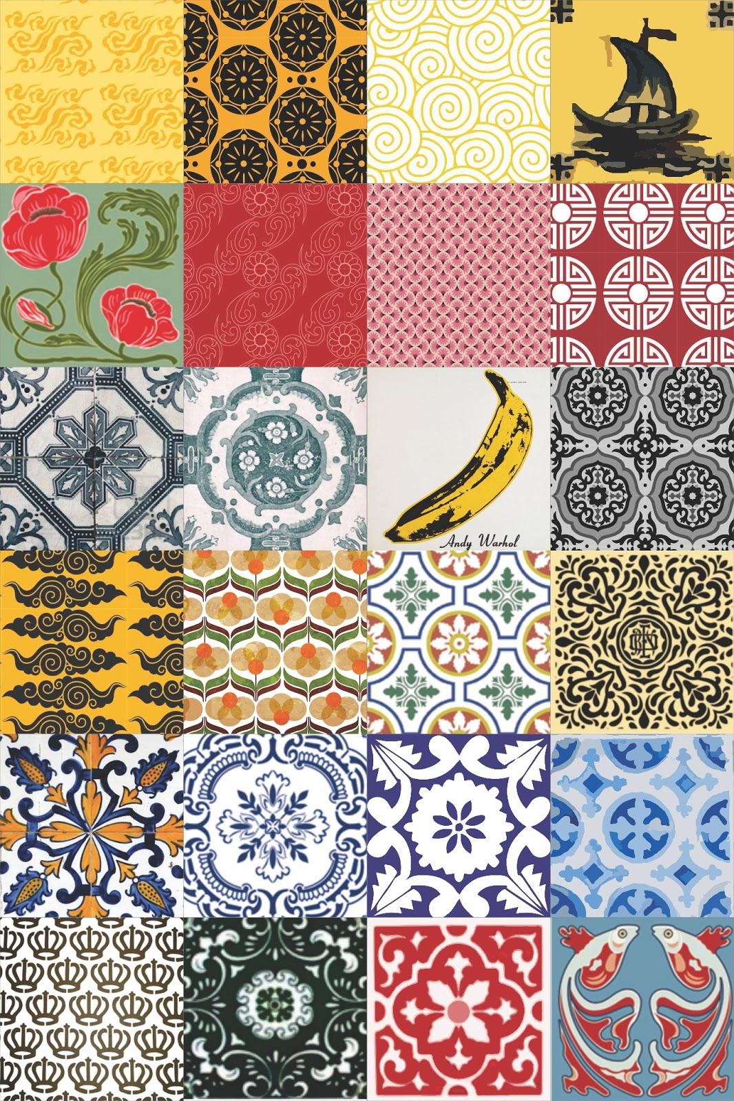 Salada da casa mosaico de azulejos for Azulejo mosaico