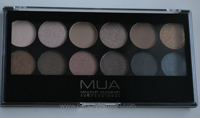 MUA Makeup Academy Undressed Palette