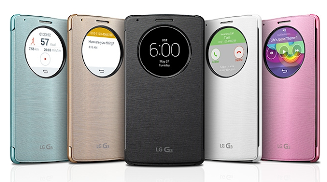Ricarica wireless con Quick Circle cover LG G3, funziona?