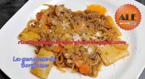 La Genovese Di Borghese Ricetta Di Alessandro Borghese Da Cucina Con