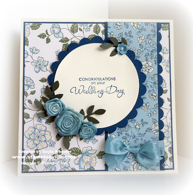 Stampin' Up! Springtime Vintage Wedding Card