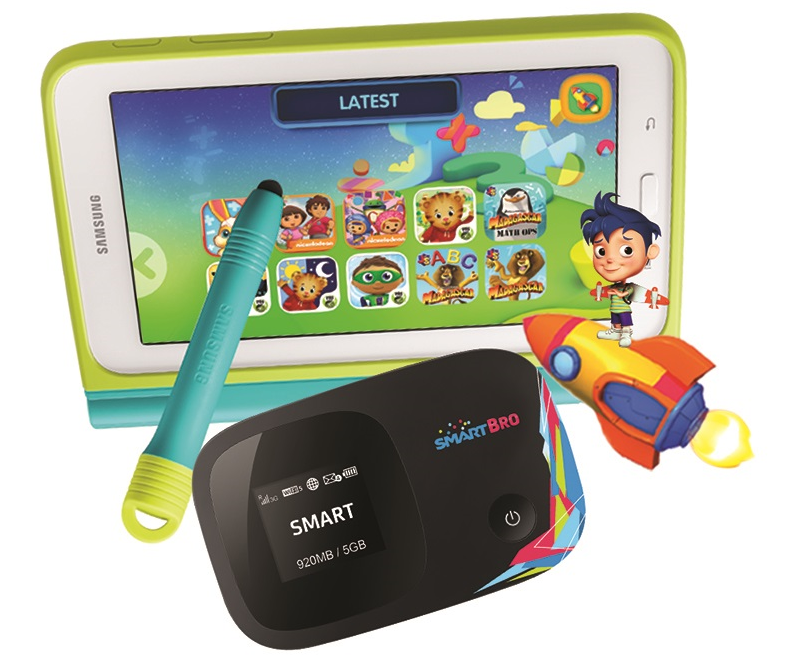 Samsung Galaxy Tab 3 Lite bundle from Smart Bro's Gadget Plus Plan 499