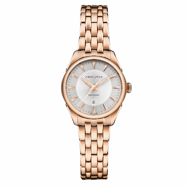 Hamilton Jazzmaster Lady Auto Watch gold