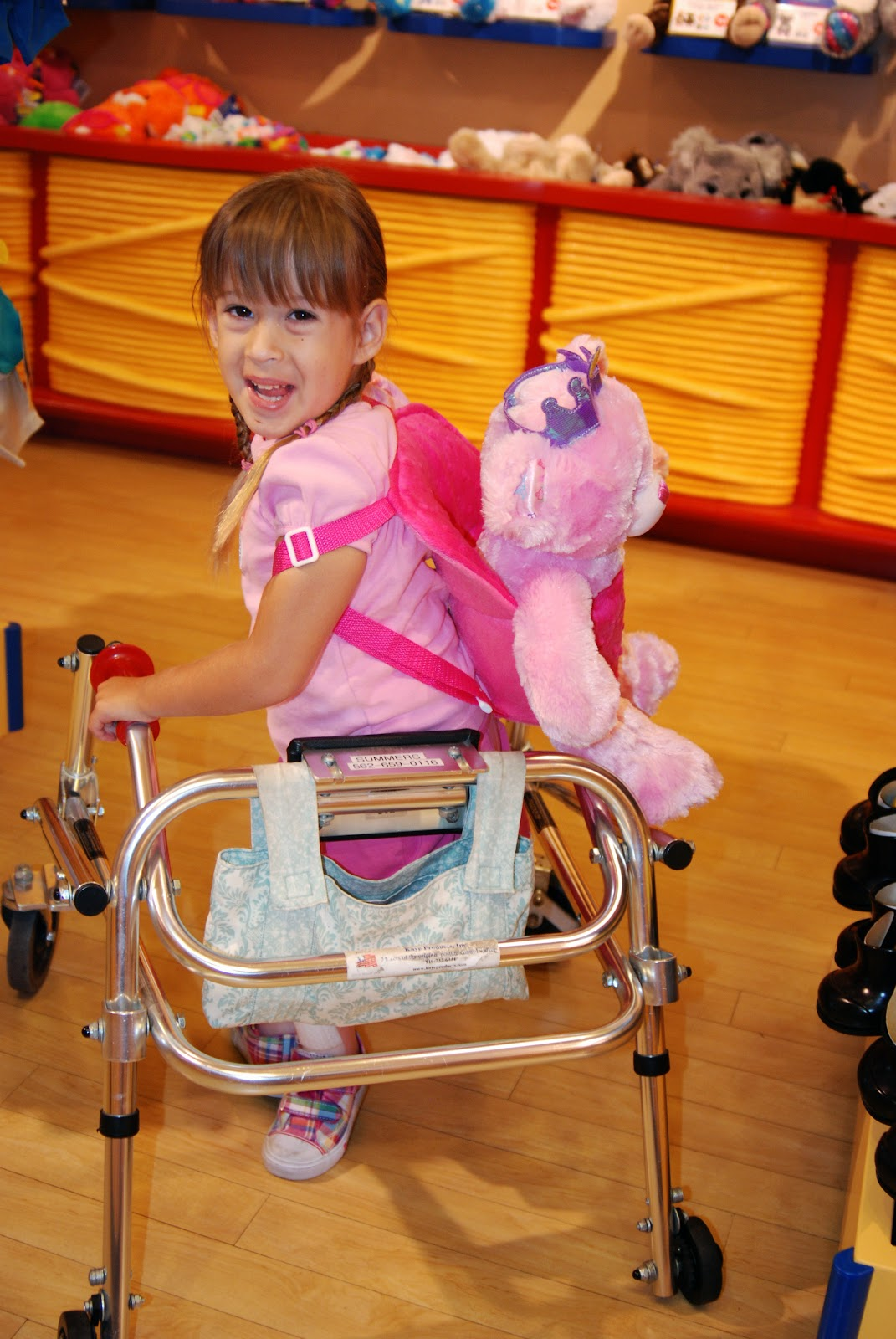 Annabelle grace flower summers annabelle leaving build a bear on her birthday july 29th she had a great time building her bear the store was super accessible and i was very impressed izmirmasajfo