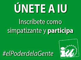 IU Andalucia: Si quieres ser simpatizante adscrito de IU, pincha la imagen y rellena la ficha.
