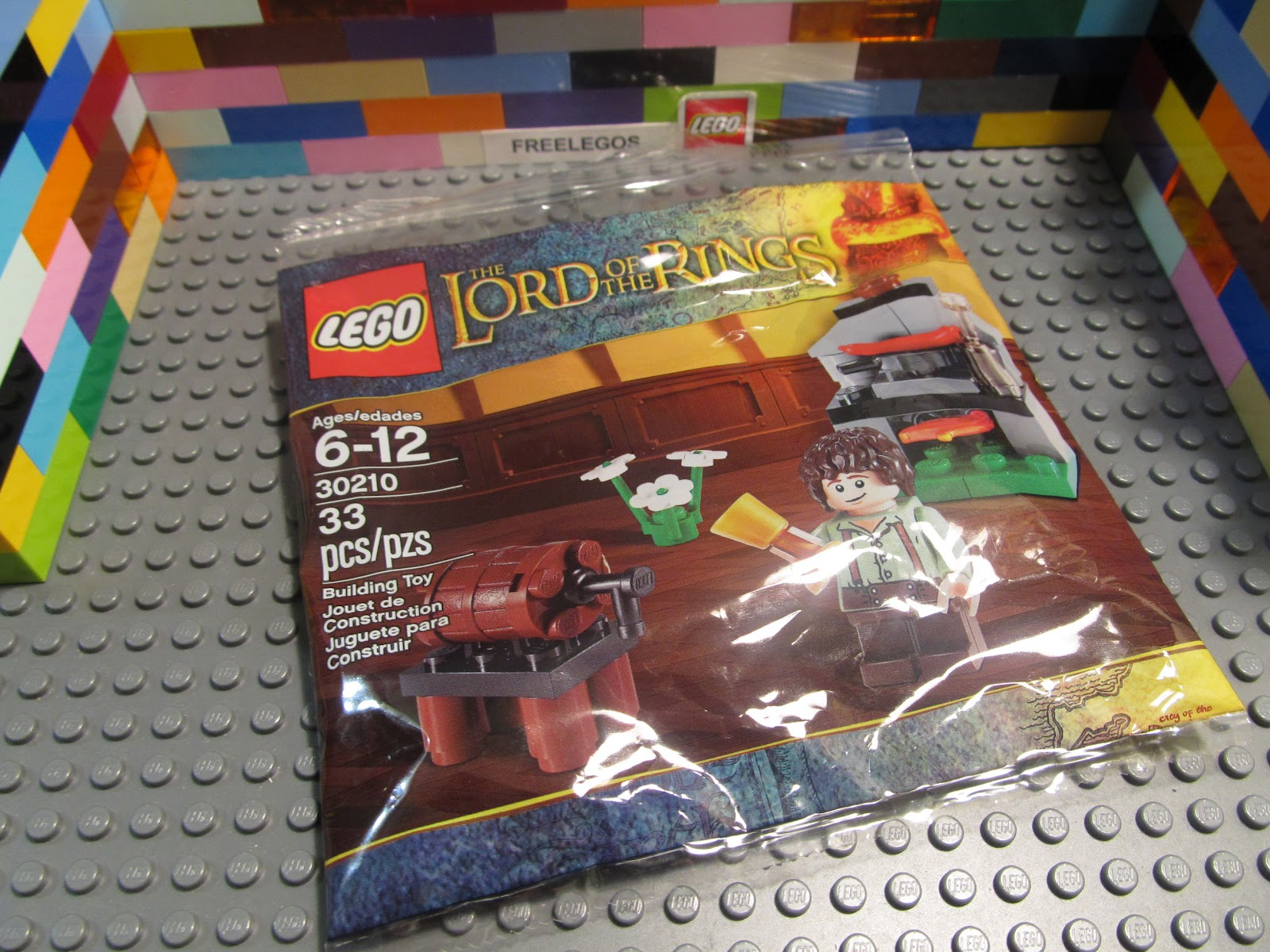 Lego 30210 Lord of the Rings Polybag FRODO minifigure w/ fireplace ...