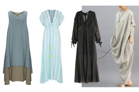 dress, kaftan, baju hamil