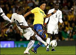 Jogo amistoso Seleção Brasileira Brasil Gana