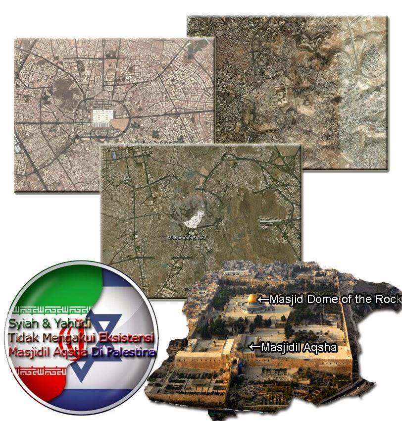 Masjid al Aqsa Syiah bukan di Palestina