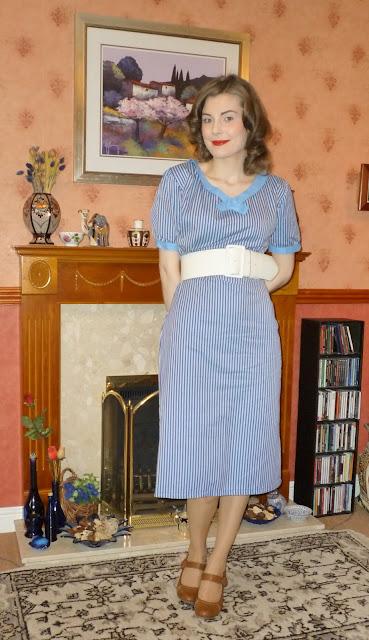 lady k loves retro chick dress via lovebirds vintage