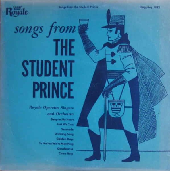 Sigmund romberg's the student prince movie