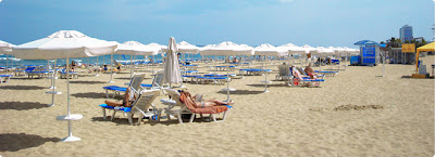 Beach in Bulgaria Sunny Beach