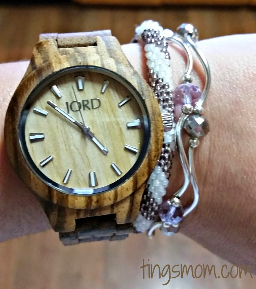 jord watch with braclets