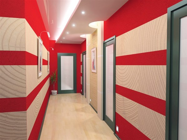 дизайн длинного узкого коридора в квартире фото