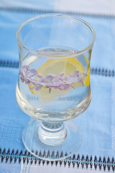 lilac lemonade, syrenlemonade