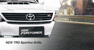 Spesifikasi Toyota Grand New Fortuner 2014