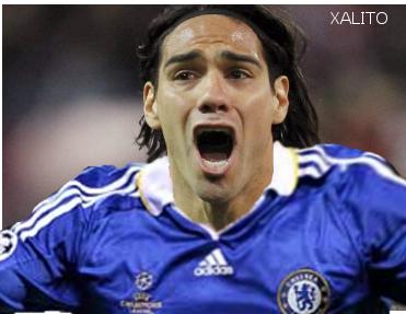 Falcao jugará en el Chelsea a partir de enero