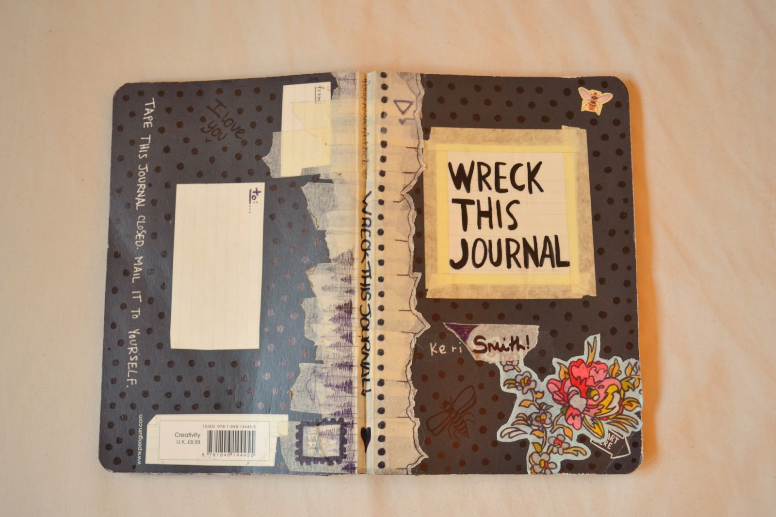 Wreck this journal своими руками
