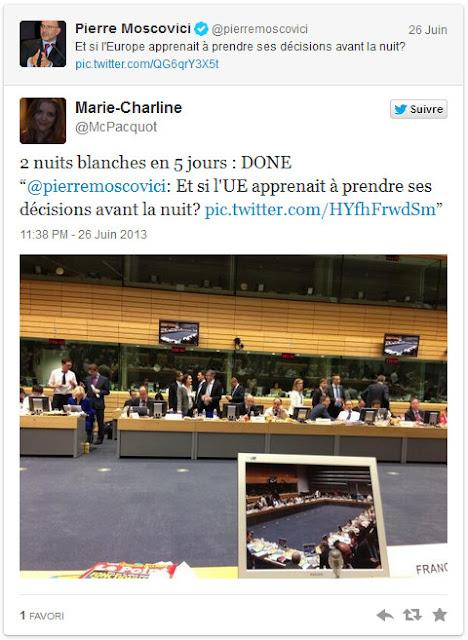 Moscovici malheureux en conomie heureux en amour zebuzzeo - Charline vanhoenacker vie privee ...