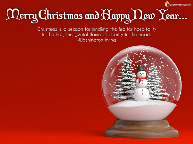 Merry Christmas and Happy New Year Wallpapers 2013
