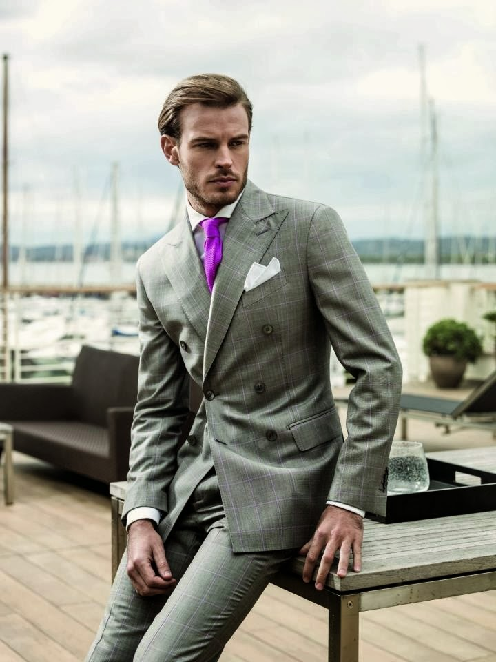 TOPTENFASHIONNEW: MENS BUSINESS SUITS GREY SUIT