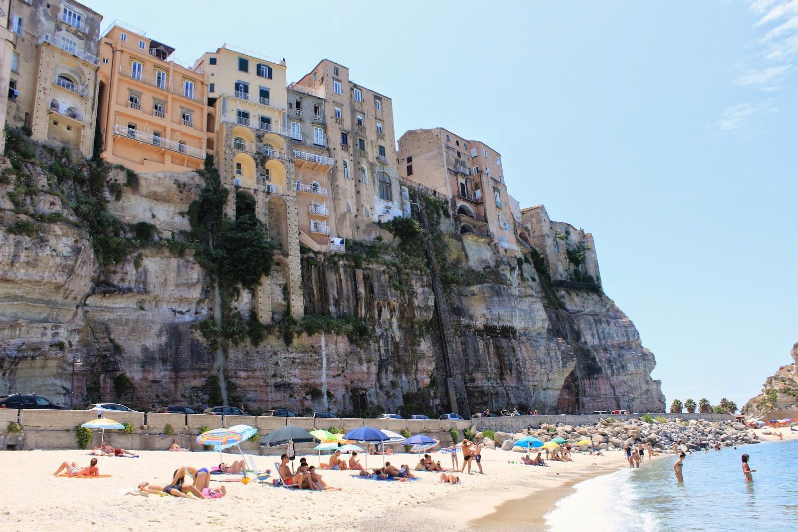 Plaża Tropea, Kalabria, Włochy