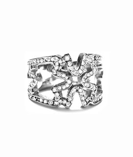 Mannassas Style N.C. Cross Ring in 18KT White Gold and White Diamonds by Soffer Ari. $7,133