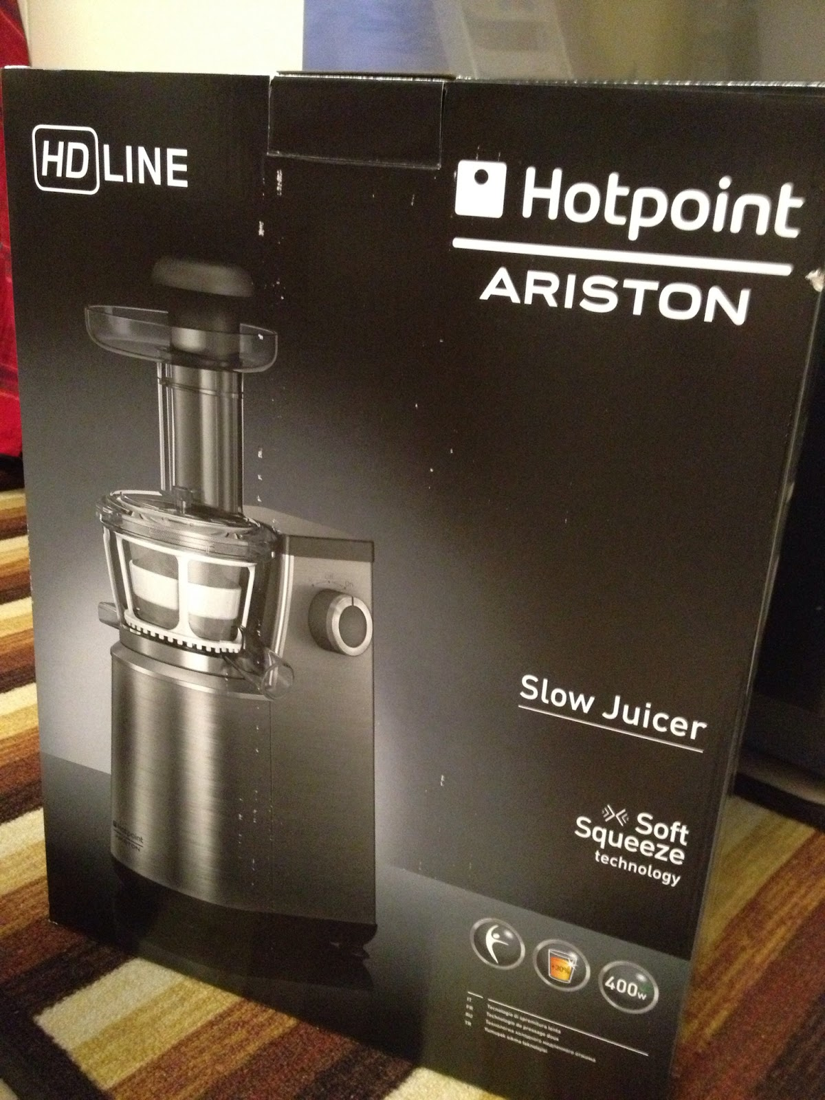 Hotpoint Sj15xlup0 Slow Juicer Estrattore : ????Hotpoint ariston Slow juicer - ??,????