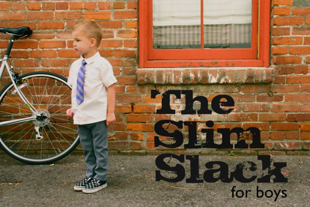 slim slacks sewing tutorial