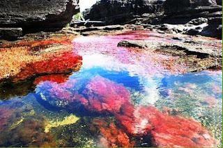 Sungai ini punya 5 warna loh