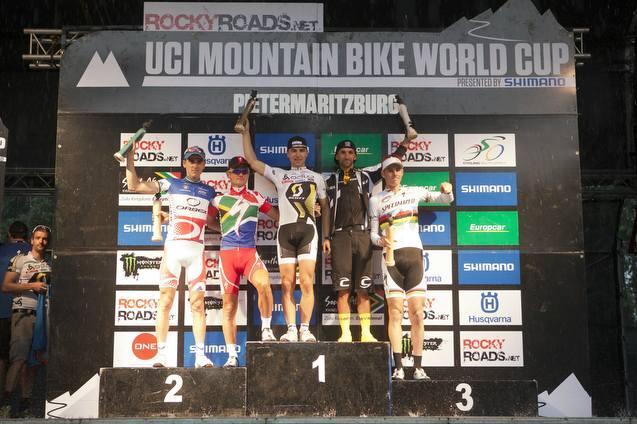 Podio Maschile XCO UCI WC Pietermaritzburg (RSA)