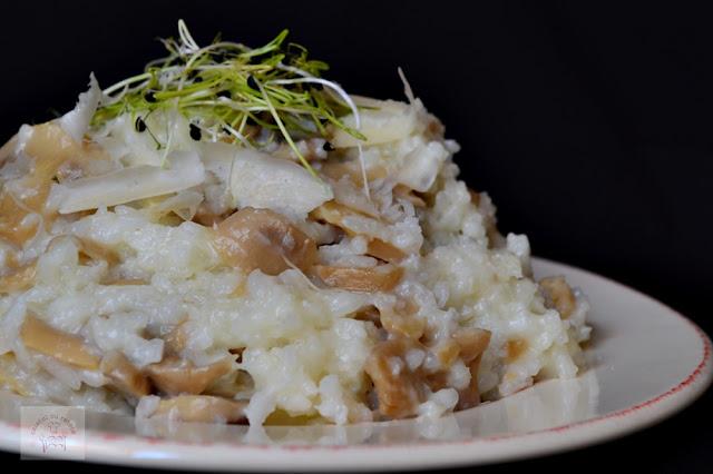 Risotto cu ciuperci la slow cooker