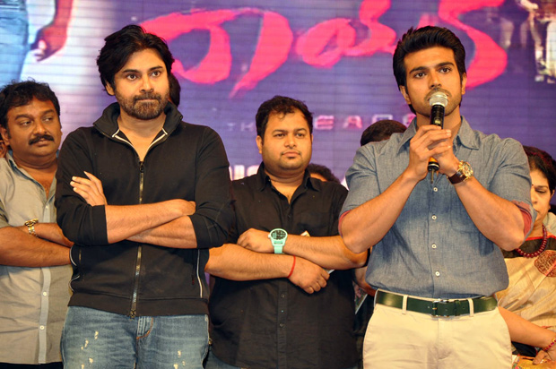 pawan kalyan at Naayak Audio Launch Photos