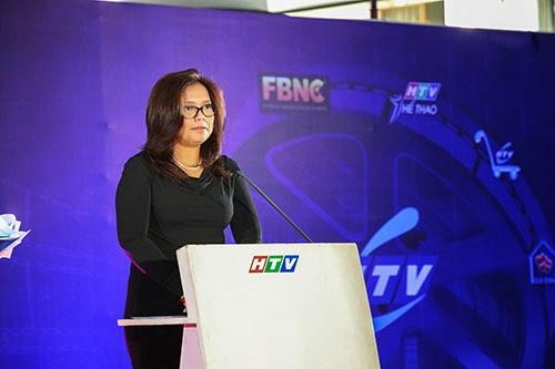 Bà Zakiah Marlek – Giám đốc kinh doanh HBO khu vực Châu Á.