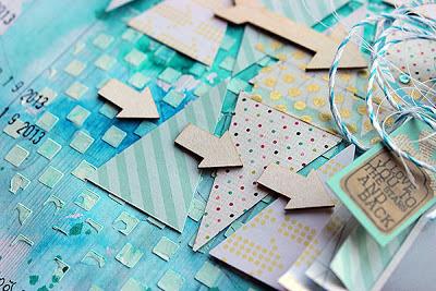 paperilla-lehti, askartelu, paperiaskartelu, skräppäys