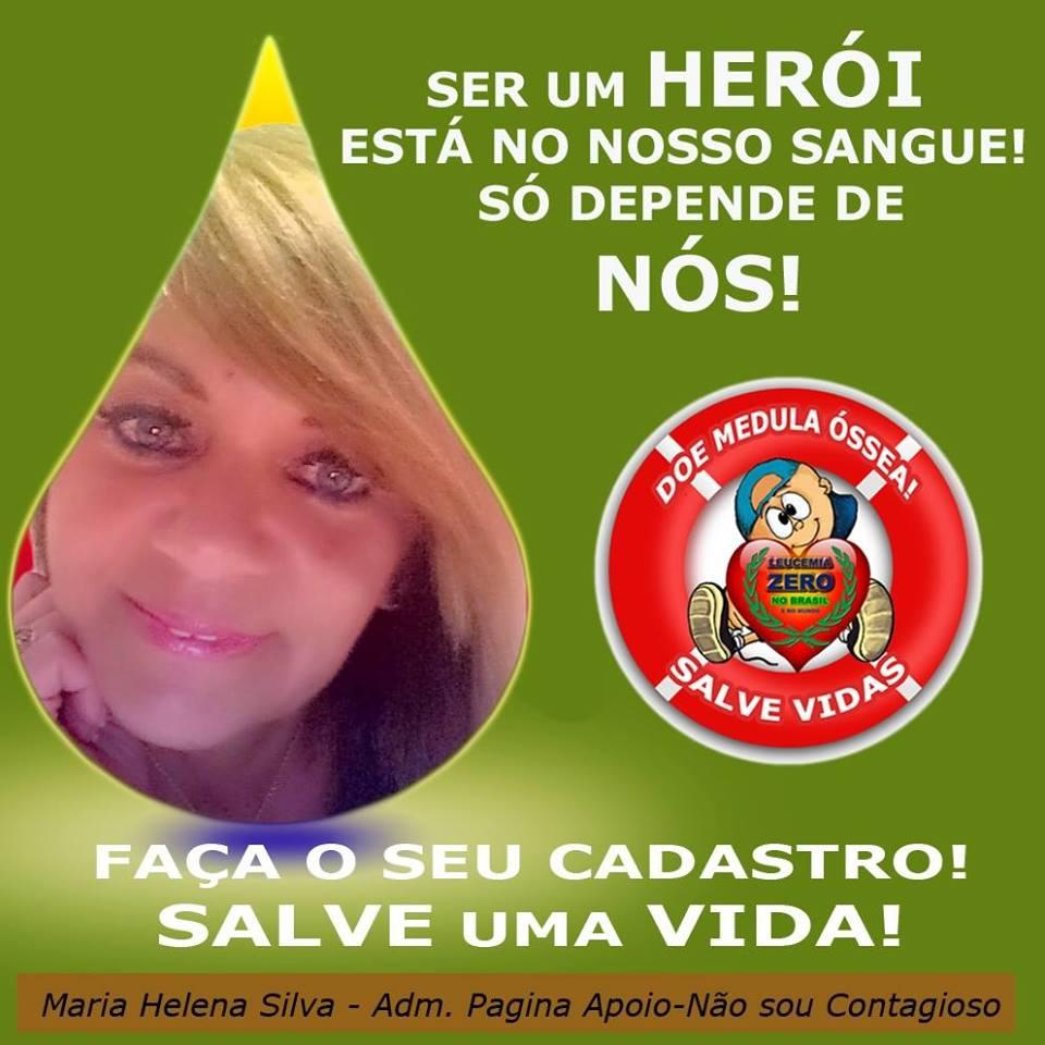 Faça como Maria Helena e salve vidas!