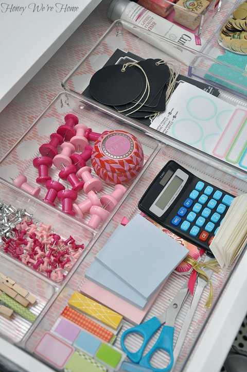 Iheart organizing uheart organizing a delightfully - How to keep your desk organized ...